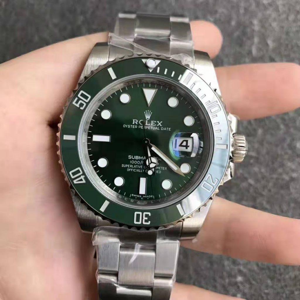 Noob Replica Rolex Green Submariner