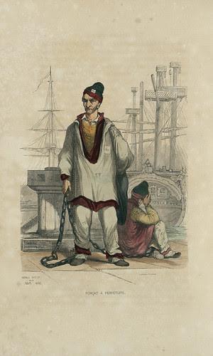 Forçat à Perpétuité by Jules Noel, 1845 (Bibliothèque numérique Enap)