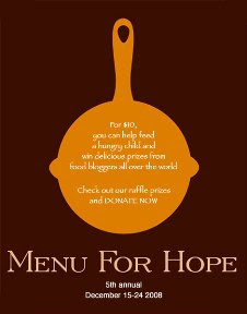 Chez Menu for Hope Logo