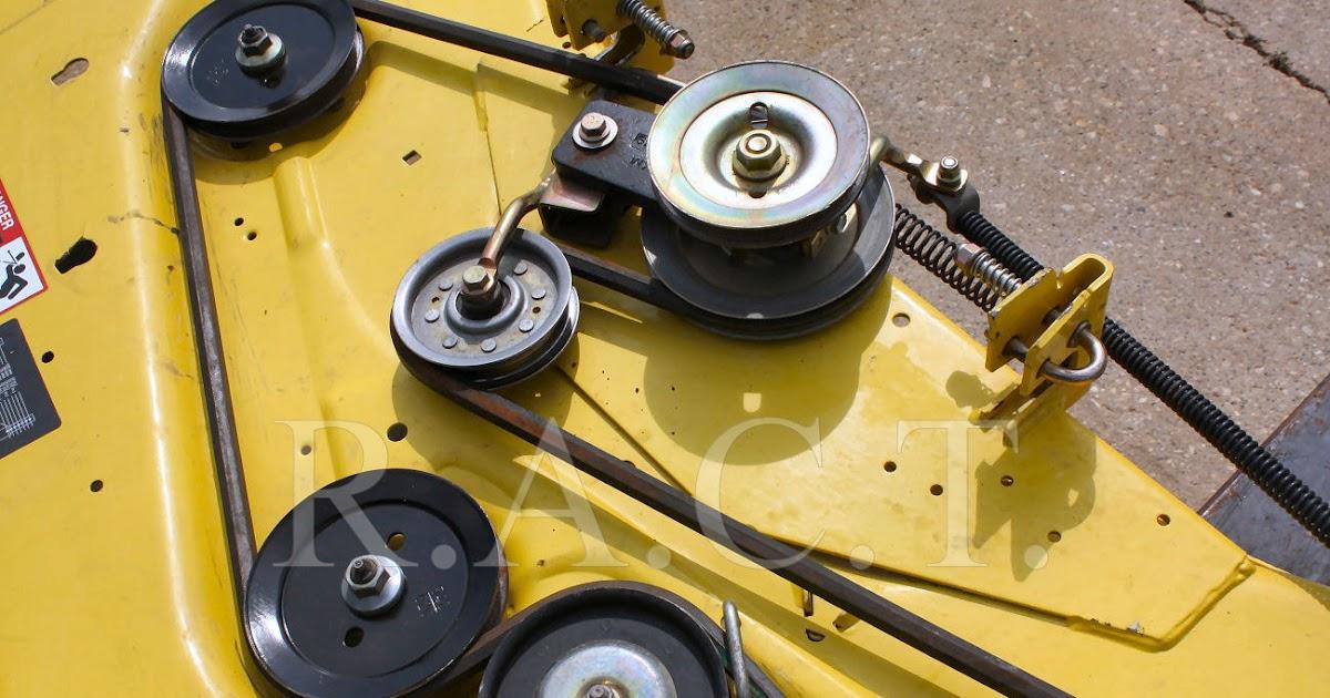 35 John Deere 54c Mower Deck Diagram