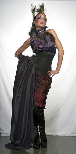 My first Fashion Show dresses - Trashion