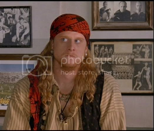 Alan Tudyk as 'Steve the Pirate' in Dodgeball [click to enlarge]