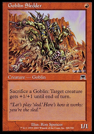 Goblin su Slitta