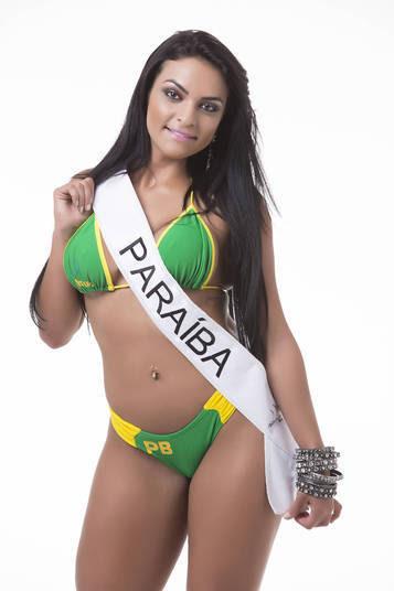 Débora Dantas, representante da Paraíba, é outra candidata ao título