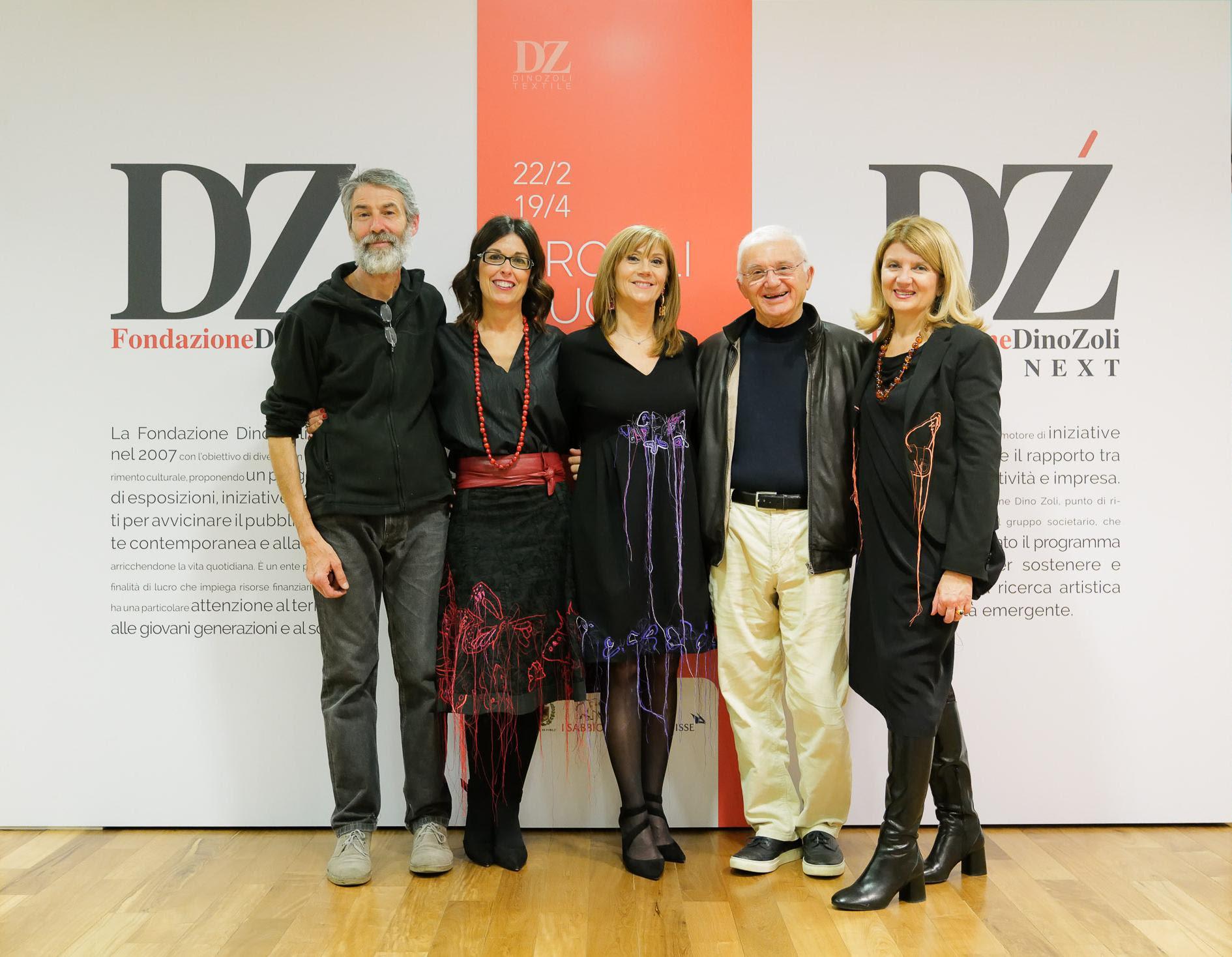 Luigi   Frignani, Nadia Stefanel, Cristina Guardigli, Dino Zoli, Monica Zoli. Ph. Luca Bacciocchi