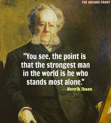 Image result for Henrik Ibsen Quotes
