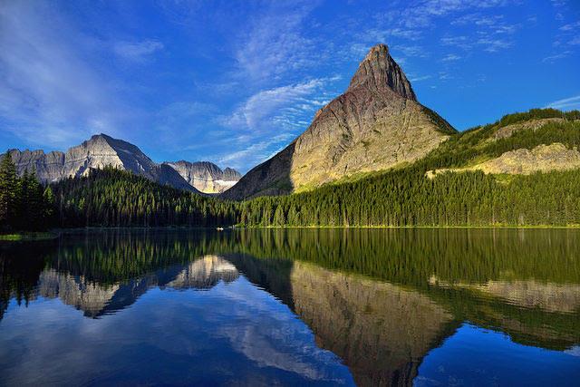 -- Glacier National         Park, Montana --