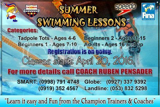 Tacloban Swimming Classes