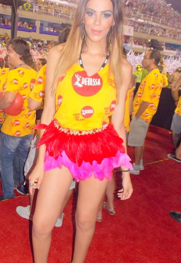 Melissa Paixão - a transex que causou na Sapucaí (Foto: Dani Barbi)