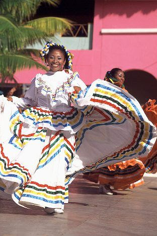 Afro-Mexican dancer