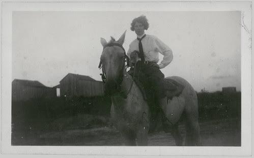 woman, jodhpurs, horse