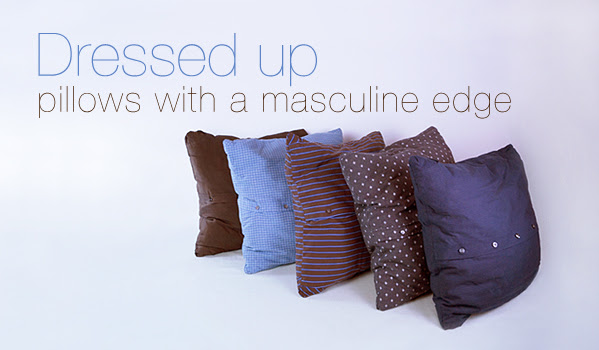 http://www.relevedesign.com/how-to-make-mens-shirt-pillow-sham/
