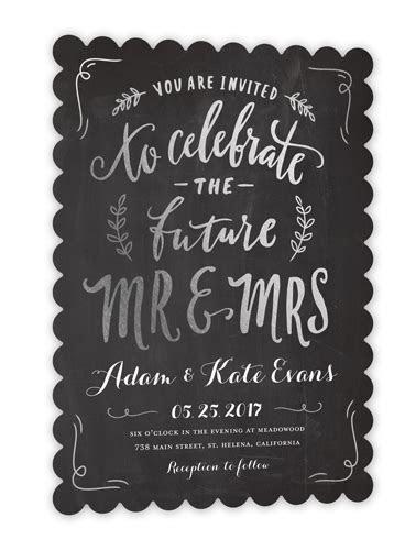 Future Mr & Mrs 5x7 Wedding Invitations   Shutterfly