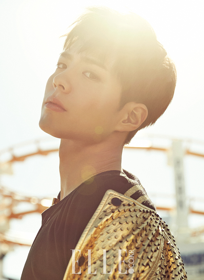 Park Bo Gum - Elle Magazine December Issue '16