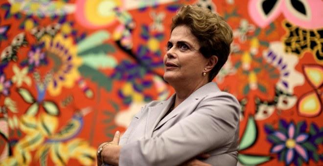 La presidenta suspendida de Brasil, Dilma Rousseff. - REUTERS