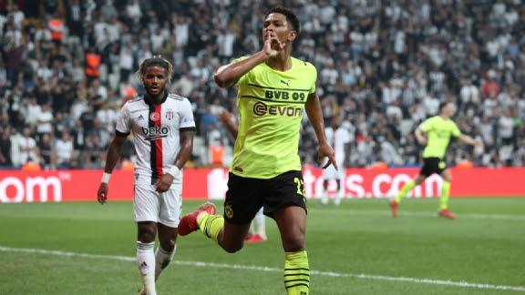 Aansluitingstreffer van Besiktas komt te laat tegen Borussia Dortmund