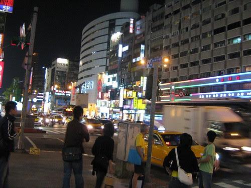 Taipei Streets at night