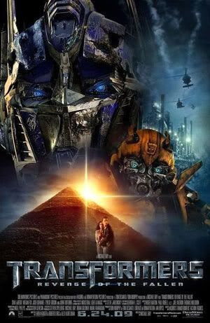 TRANSFORMERS: REVENGE OF THE FALLEN theatrical poster.