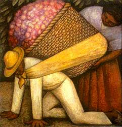 Diego Rivera - El cargador de flores