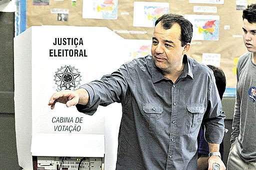 O peemedebista Sérgio Cabral gastou muito mais do que os principais rivais nas eleições de 2006 e de 2010 (Fábio Costa/JCom/D.A Press - 3/10/10)