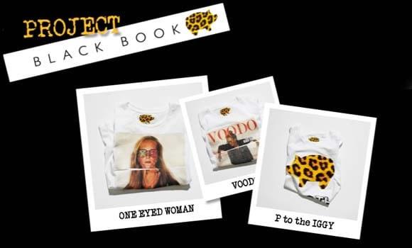 hm Concurso de camisetas Black Book para H&M