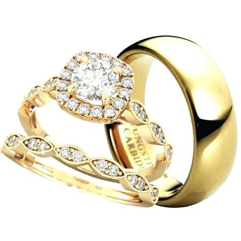Made For Two His & Hers Wedding Ring Set
