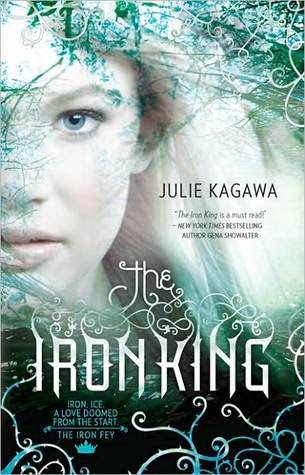 Book Review: The Iron King (The Iron Fey, Book 1), By Julie Kagawa Cover Art