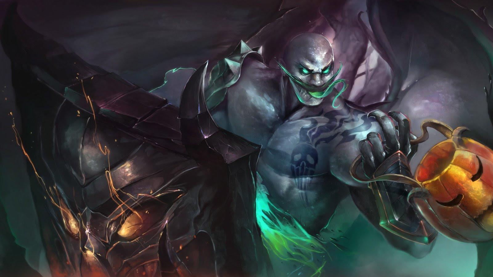 Halloween Braum Wallpapers Fan Arts League Of Legends Lol