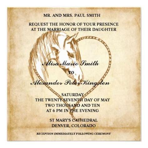 79 best Western Wedding Invitations Zazzle images on