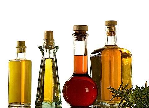 Plain old vegetable oil.