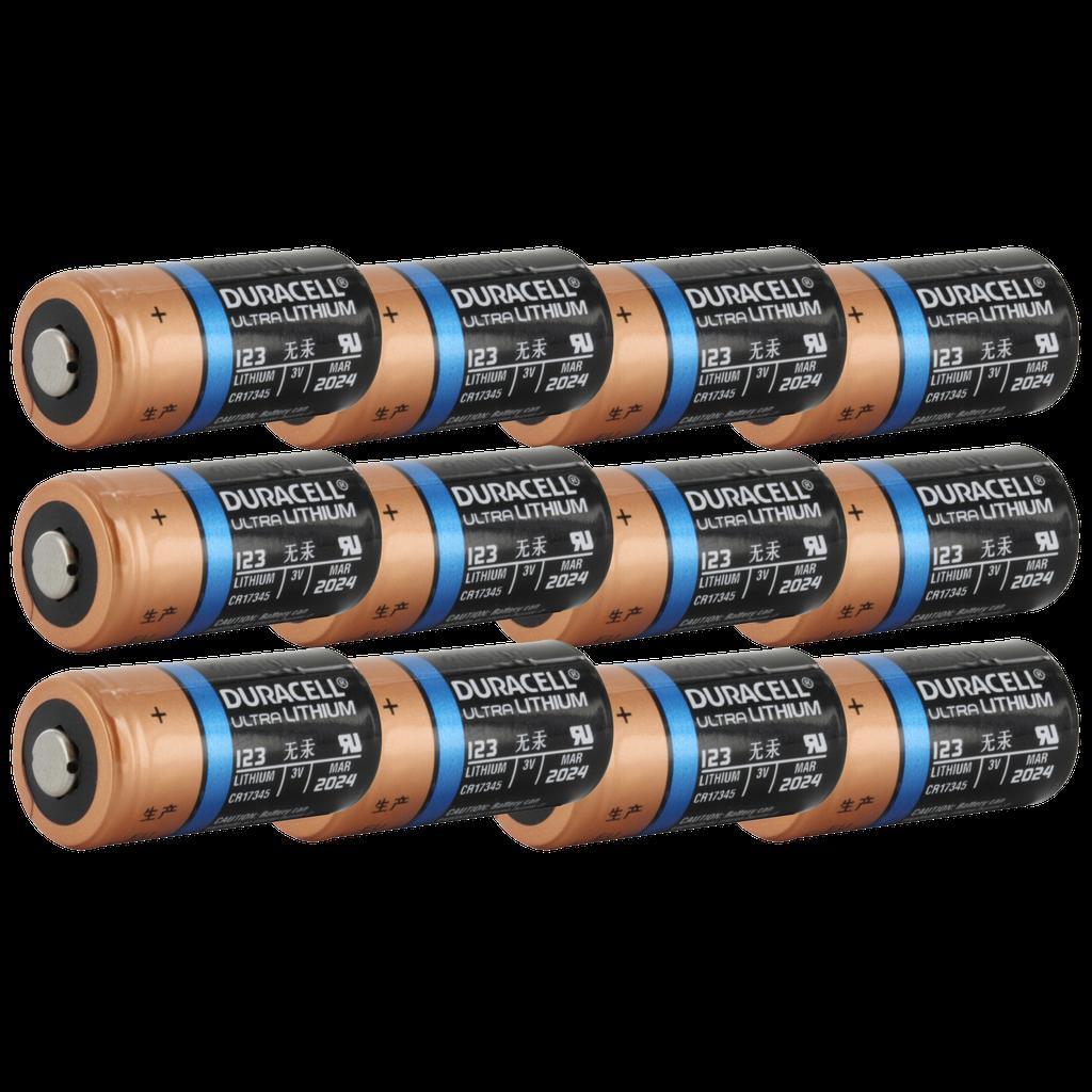 Duracell Ultra Dl123a Cr123a Lithium Battery Cr123 Pl123 El123