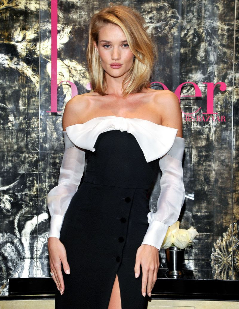 ROSIE HUNTINGTON-WHITELEY at Harper by Harper