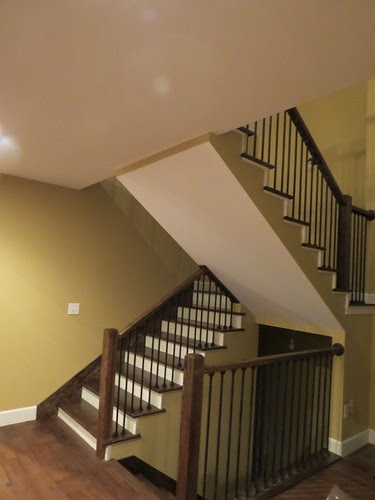 Jnj My Store >> Let's Just Build a House!: stairs to upstairs...