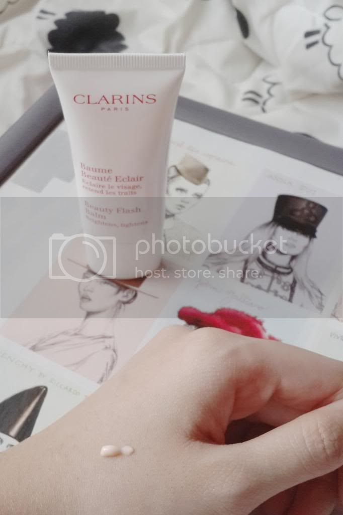 clarins beauty flash balm swatch