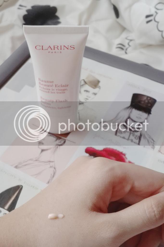 clarins beauty flash balm swatch