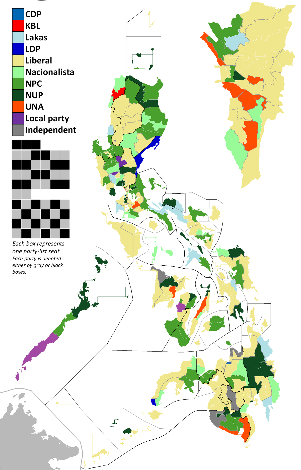 2013 Philippine House Of Representatives Elections Wikipedia