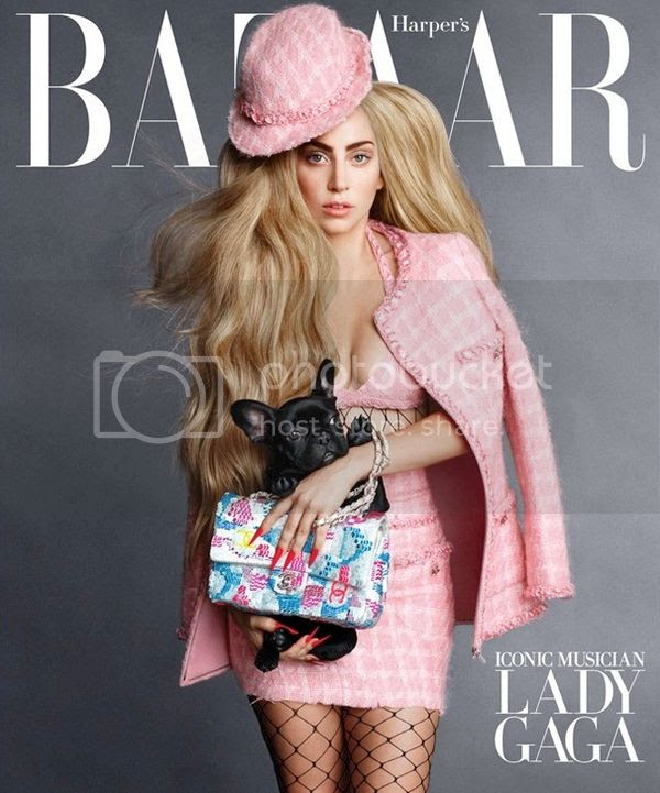 Snapshots: Lady Gaga covers September Icon issue of Harper's Bazaar...