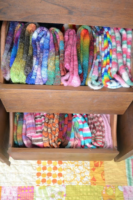 Susan B. Anderson: The Drawer of Hand Knit Socks