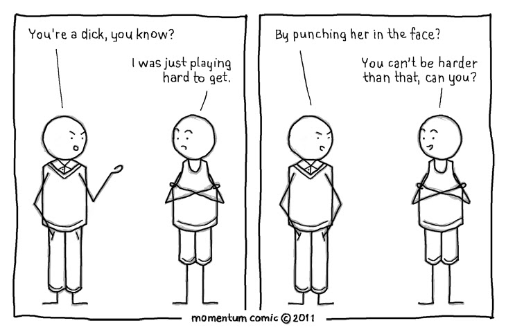 Hard To Get Momentum Comic