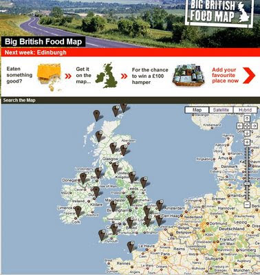 Channel 4 Big British Food Map