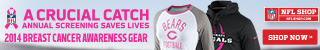 Shop for 2014 NFL Breast Cancer Awareness Fan Gear