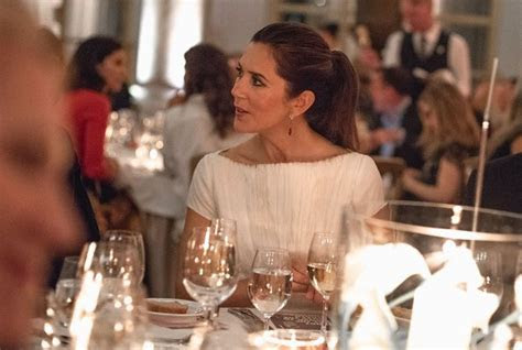 Crown Princess Mary attended Fashion Summit 2018 dinner