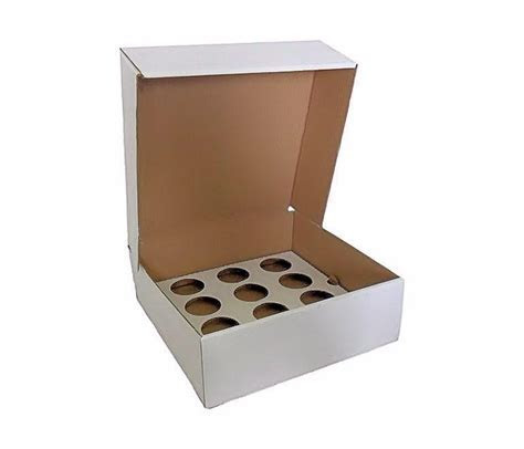 12 Cupcake Box Cardboard   Cake Boards and Boxes   Cake