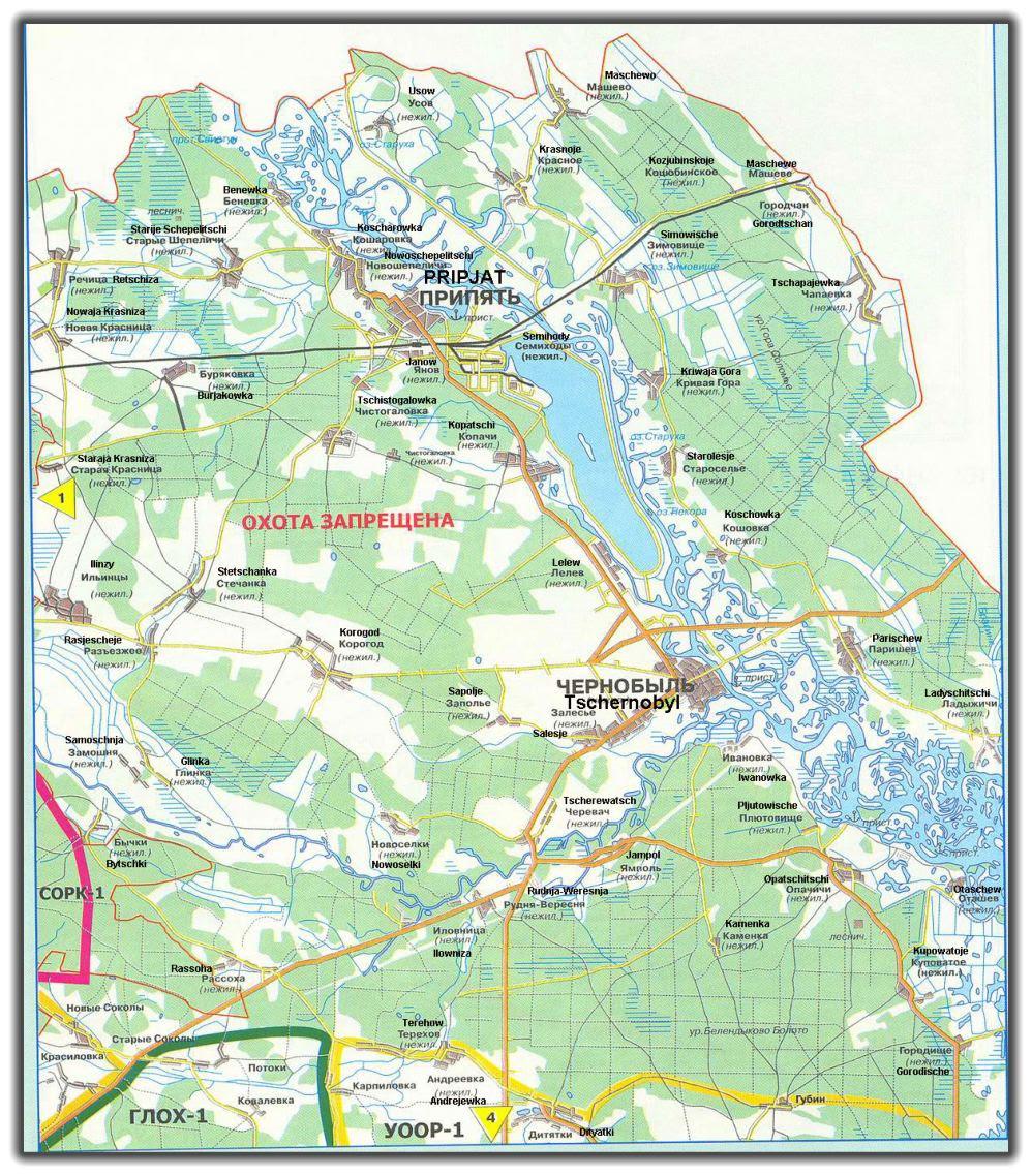 pripyat karte Pripyat Karte | Karte