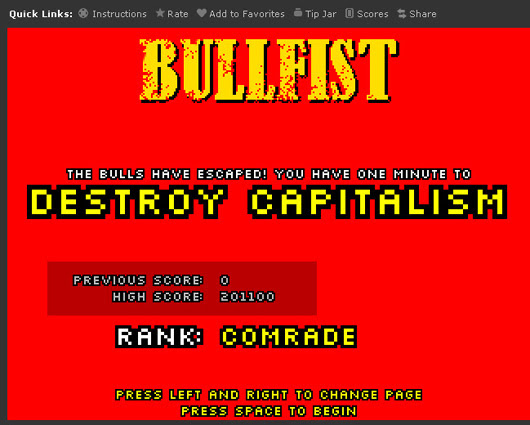 Bullfist Highscore