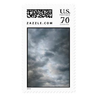 Storm Clouds Breaking – Large Postage Stamps