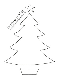 Christmas tree templates oh my fiesta in english plantillas de rboles de navidad maxwellsz