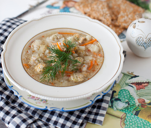Soup with Meatballs 2