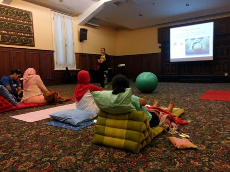 Sabtu kemarin saya mengadakan acara Gentle Birth Balance Class  Gentle Birth Balance Class  Workshop – Batch 9