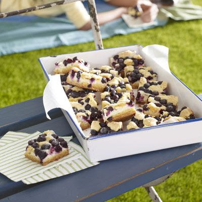 Lemon-Blueberry Crumb Bars - possibility for 4th of july party